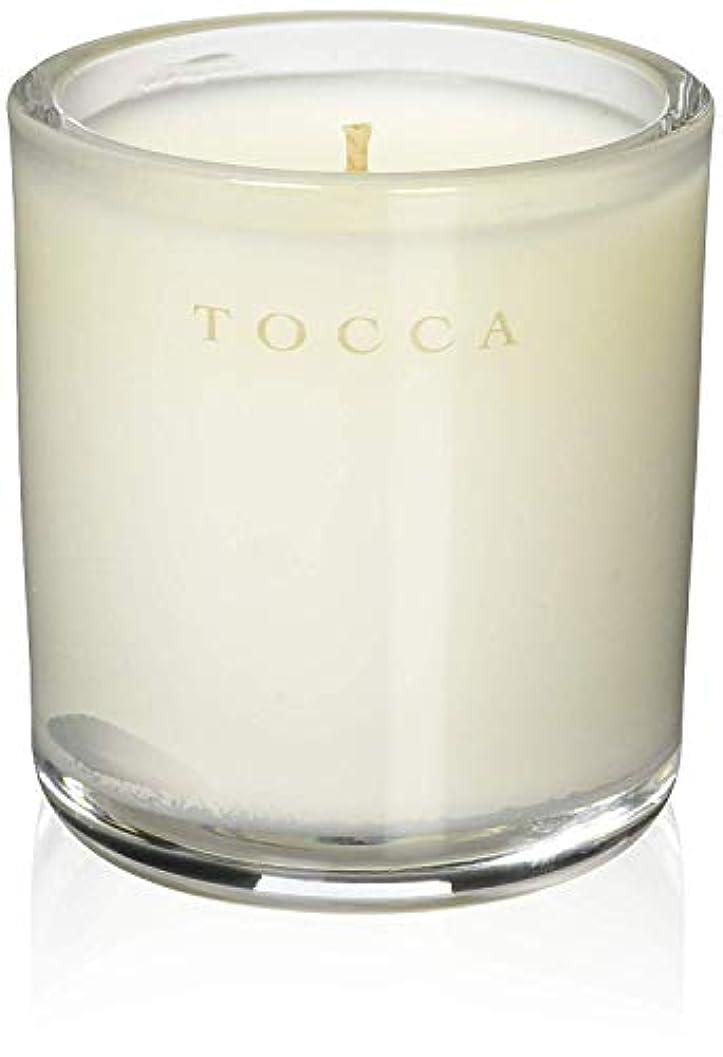 なめらかな枕解釈的TOCCA(トッカ) ボヤージュ キャンデリーナ モントーク 85g (ろうそく 芳香 キューカンバーの爽やかな香り)