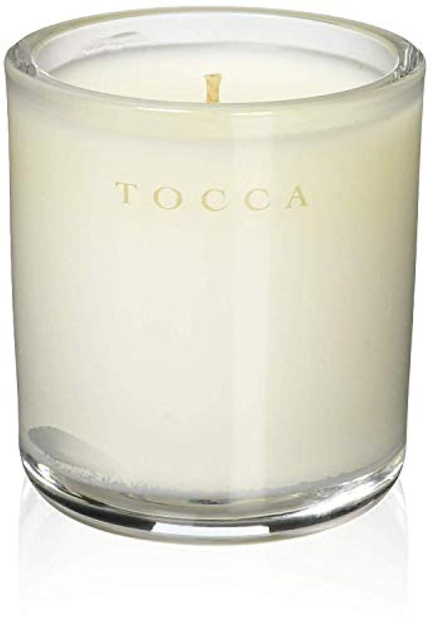 ソース分散スクラップTOCCA(トッカ) ボヤージュ キャンデリーナ モントーク 85g (ろうそく 芳香 キューカンバーの爽やかな香り)