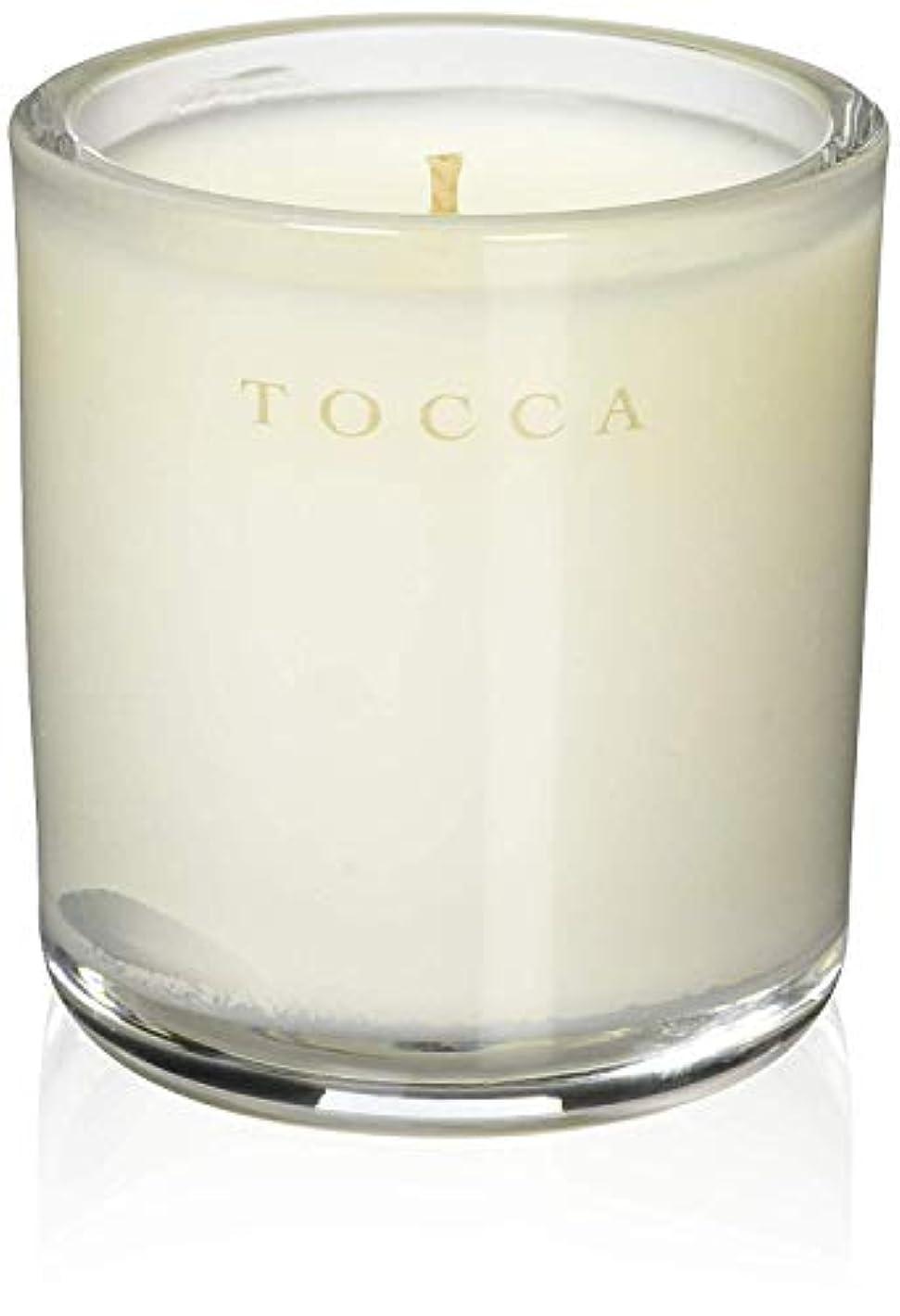 加速度抗生物質可聴TOCCA(トッカ) ボヤージュ キャンデリーナ モントーク 85g (ろうそく 芳香 キューカンバーの爽やかな香り)