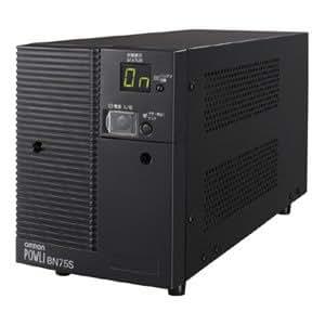 オムロン 無停電電源装置(ラインインタラクティブ) 750VA/680W:縦置 BN75S