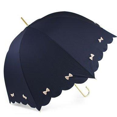 pink trick 傘 カラフルリボン