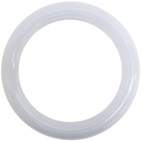 丸形LED蛍光灯 30形 消費電力9W ホワイトカバー...