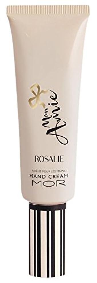 寛容な誘う追い払うMOR(モア) モナミー ハンドクリーム ロザリー(ダマスクローズ、マグノリアにホワイトムスクとアンバーが美しく調和した香り) 50ml