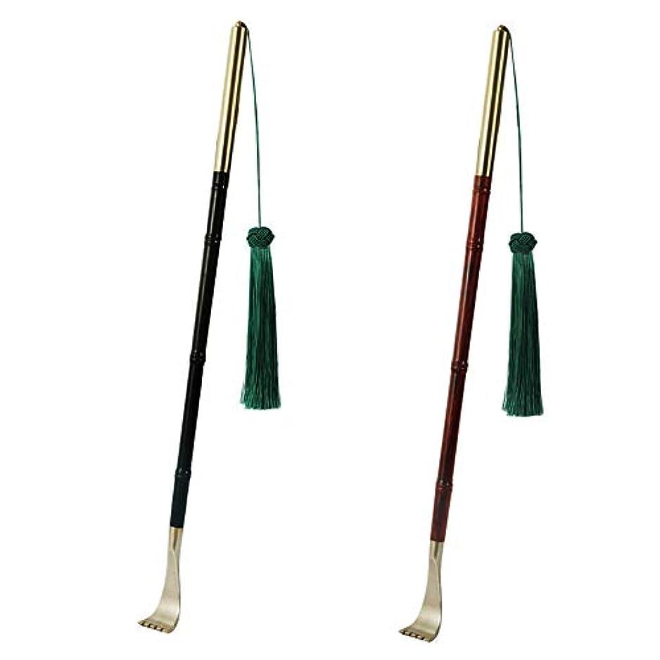 どこにも再生的一般的に言えばAkagi 背中掻きブラシ 木製 まごのて 敬老の日 プレゼント高人気 背中かゆみを止め マッサージ用