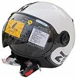 ZEUS 210 ゼウス バイクヘルメット オープンフェイス ジェット 半帽 ハーフ パイロット シールド付 XXL(61-62CM) メンズ レディース ヘルメット