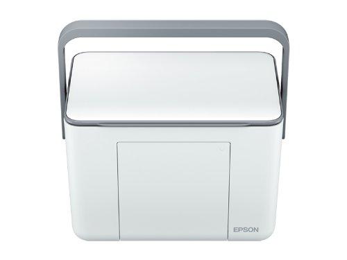 EPSON コンパクトプリンター Colorio me E-370W ホワイト