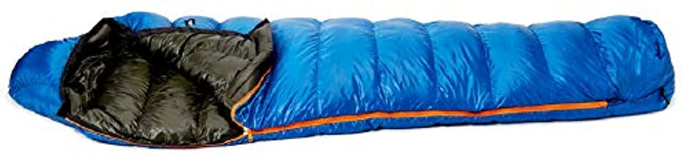 読み書きのできないリアルバイナリプロモンテ(PuroMonte) 寝袋 コンパクト収納 封筒型 ダウン シュラフ 羽毛量約450g DL451