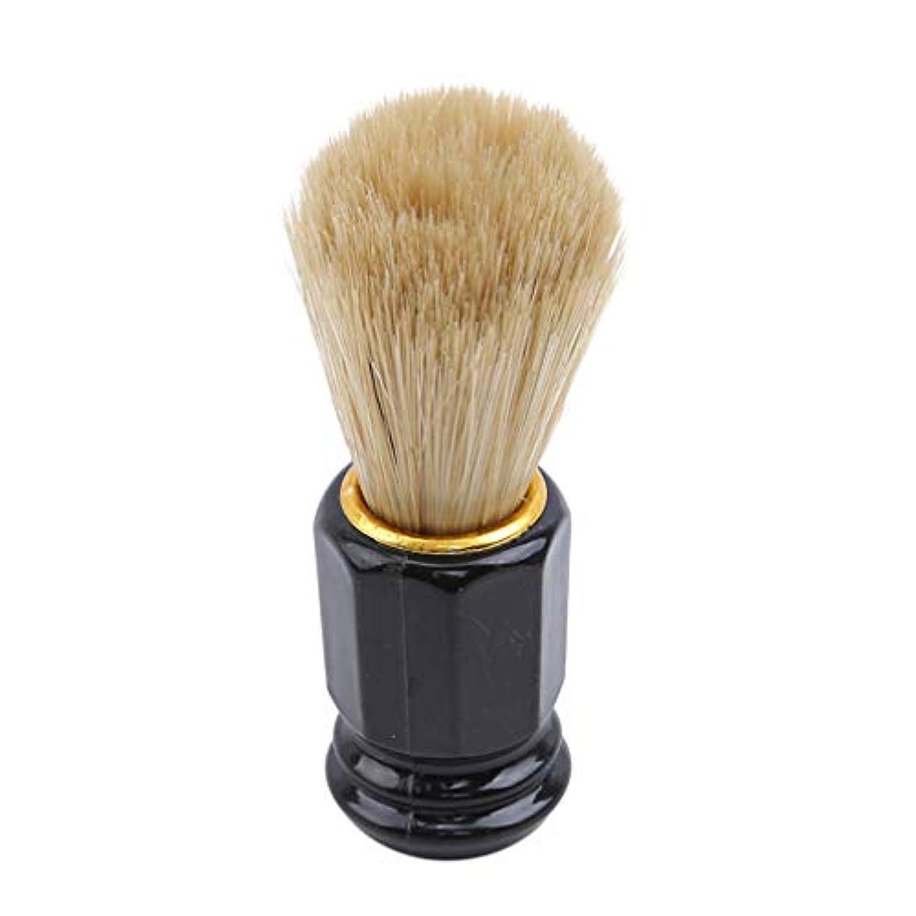 激怒ミリメーターペルセウス火の色 ひげブラシ シェービングブラシ 美容ツール 理容 洗顔 髭剃り 泡立ち 男性