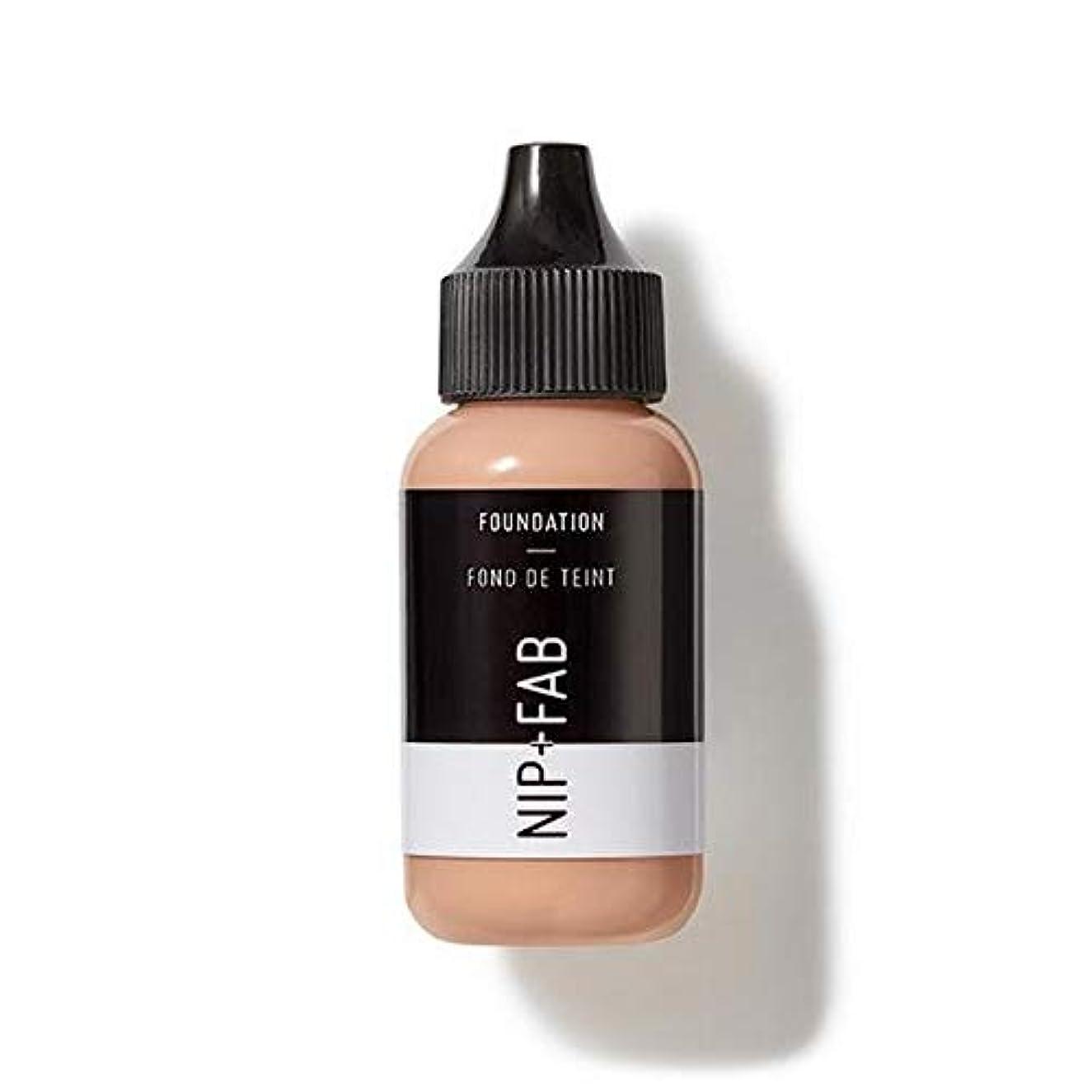 酸っぱいセッティング揮発性[Nip & Fab ] 基礎30ミリリットル30を構成するFab +ニップ - NIP+FAB Make Up Foundation 30ml 30 [並行輸入品]