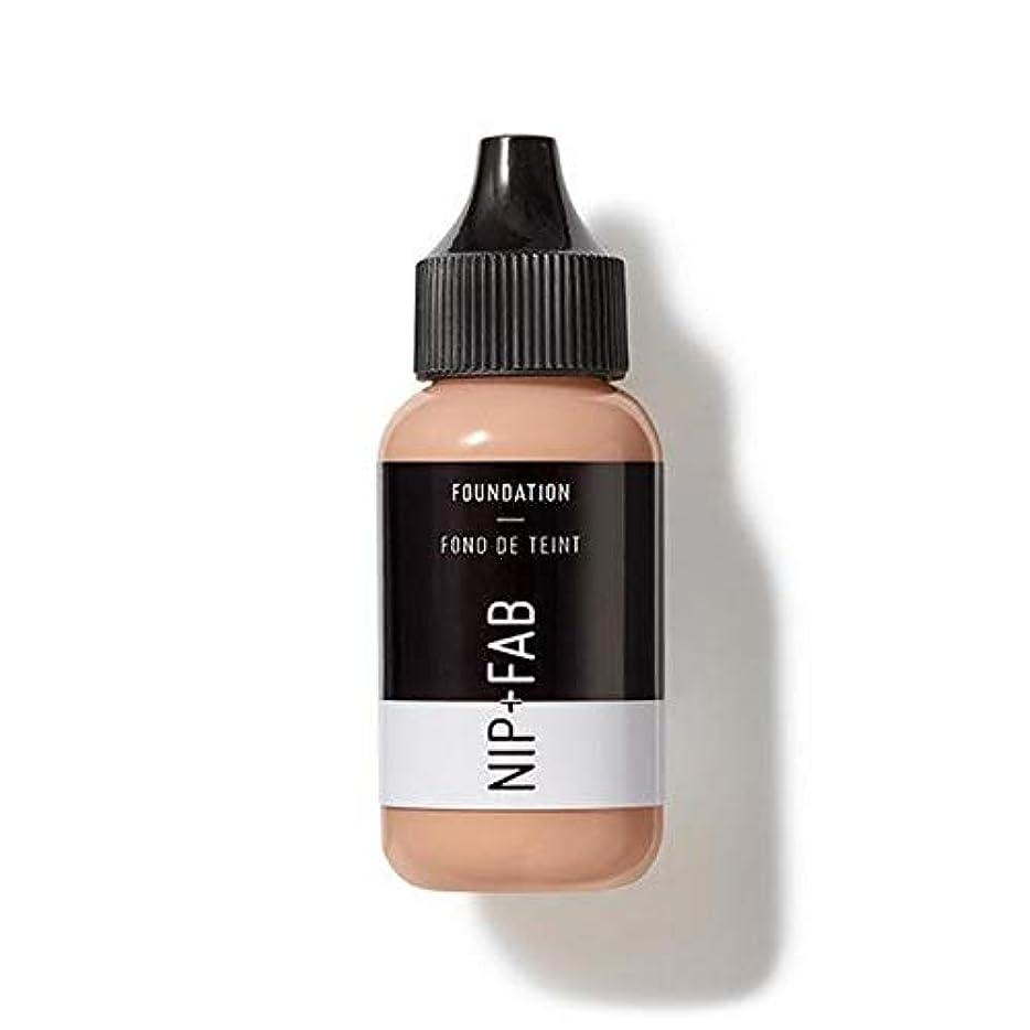 大佐道湿度[Nip & Fab ] 基礎30ミリリットル30を構成するFab +ニップ - NIP+FAB Make Up Foundation 30ml 30 [並行輸入品]