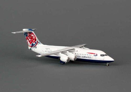 AVIATION200 1-200スケールモデル航空機AV2146009 AVIATION200ブリティッシュ・エアウェイズBAE146 1-200チェルシーローズG-BZAV