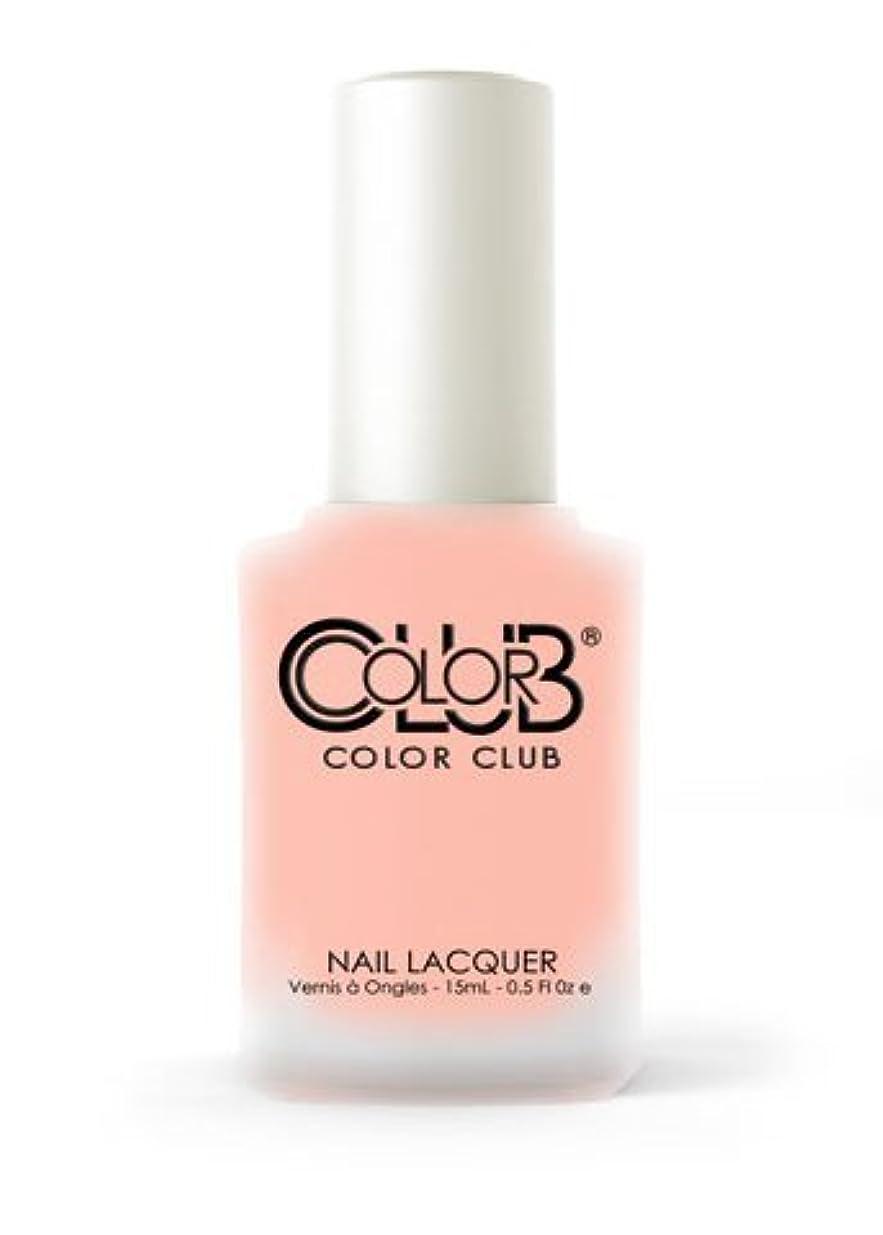 ペパーミント北コーヒーColor Club EXTRA CREDIT .5 fl oz Neon Matte Finish Nail Lacquer-from the new Pop Chalk Collection by Color Club