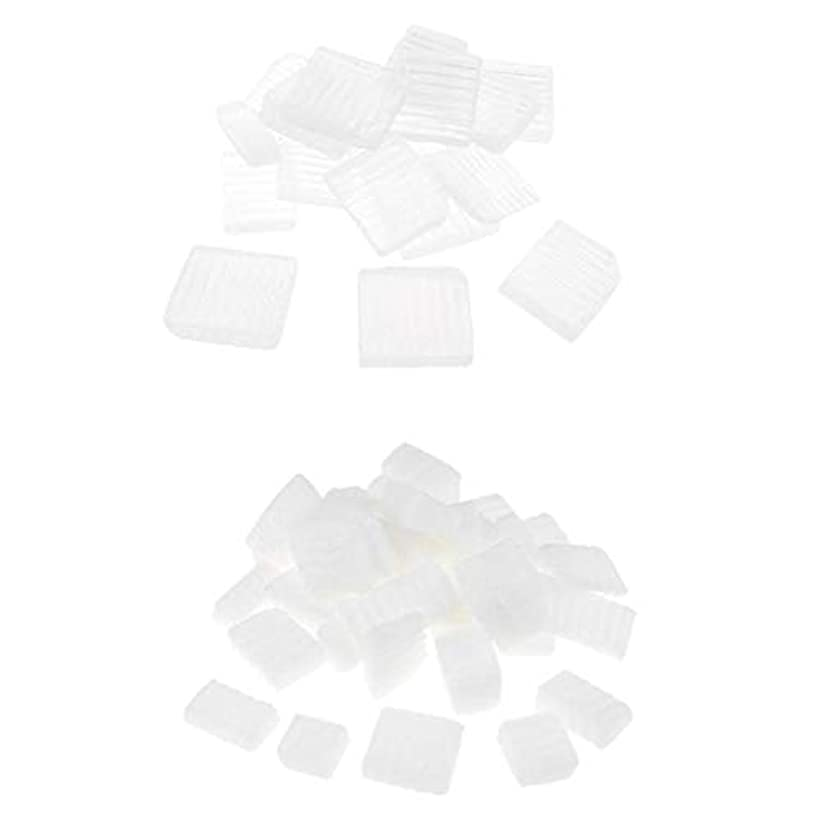 石の勇気のある進捗Baoblaze 固形せっけん 2KG 2種 ホワイト 透明 DIYハンドメイド ソープ原料 石鹸製造 古典的