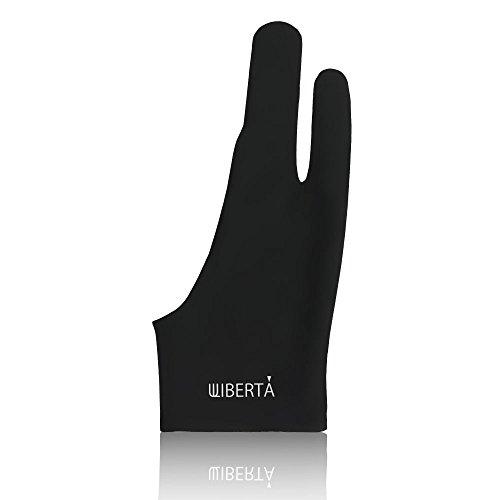 WIBERTA 2本指グローブ 絵描き 手袋 ペンタブレット グラフィックモニター イラストレーター 左右兼用