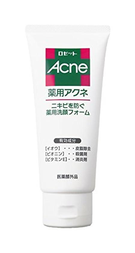 レコーダーソファーアイドルロゼット 薬用アクネ 洗顔フォーム