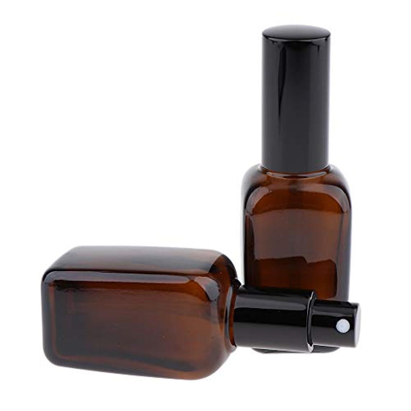 従事した受け入れた金額香水 アロマテラピー エッセンシャルオイル ボトル 10/20/30/50/100ml ガラス 5サイズ選べ - 50ml