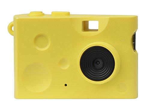 Kenko トイカメラ DSC Pieni Cheese 131万画素 動画・静止画撮影可能 イエロー microSDカード対応 DSC-PIENI CHEESE