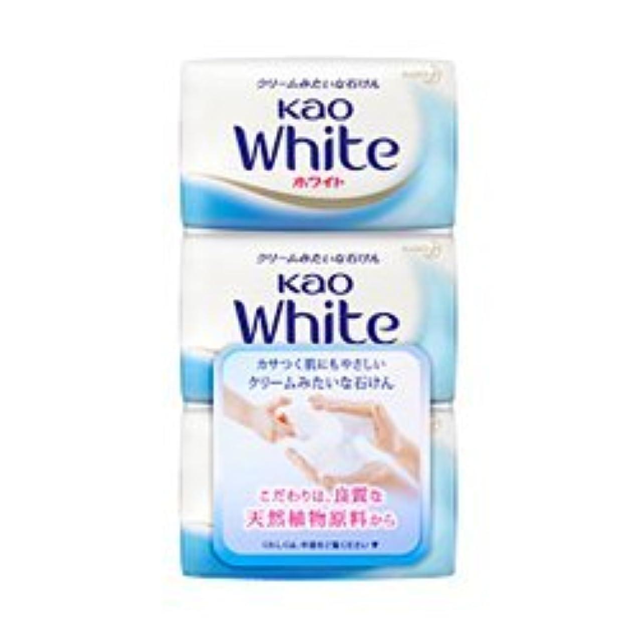 摂氏剪断文明化する【花王】花王ホワイト レギュラーサイズ (85g×3個) ×5個セット