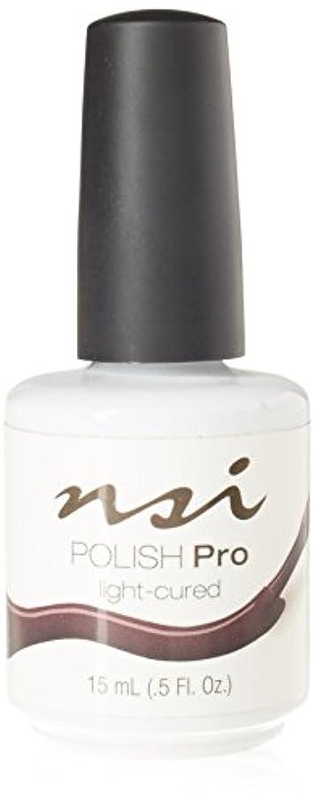 封建ウガンダ賛美歌NSI Polish Pro Gel Polish - Espresso - 0.5oz/15ml