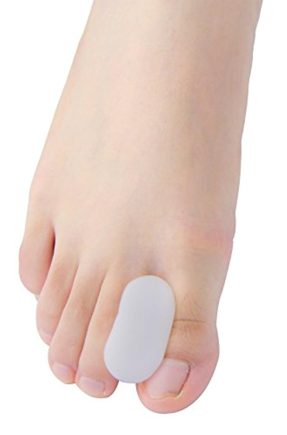 Povihome 足指衝撃ストッパー, 足指セパレーター,外反母趾 サポーター 矯正 バニオン 5ペア,柔らかゲルでやさしくサポート(M)