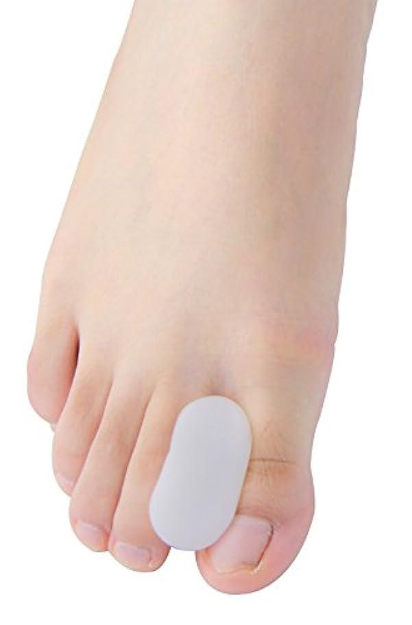 わざわざ厳カスケードPovihome 足指衝撃ストッパー, 足指セパレーター,外反母趾 サポーター 矯正 バニオン 5ペア,柔らかゲルでやさしくサポート(M)