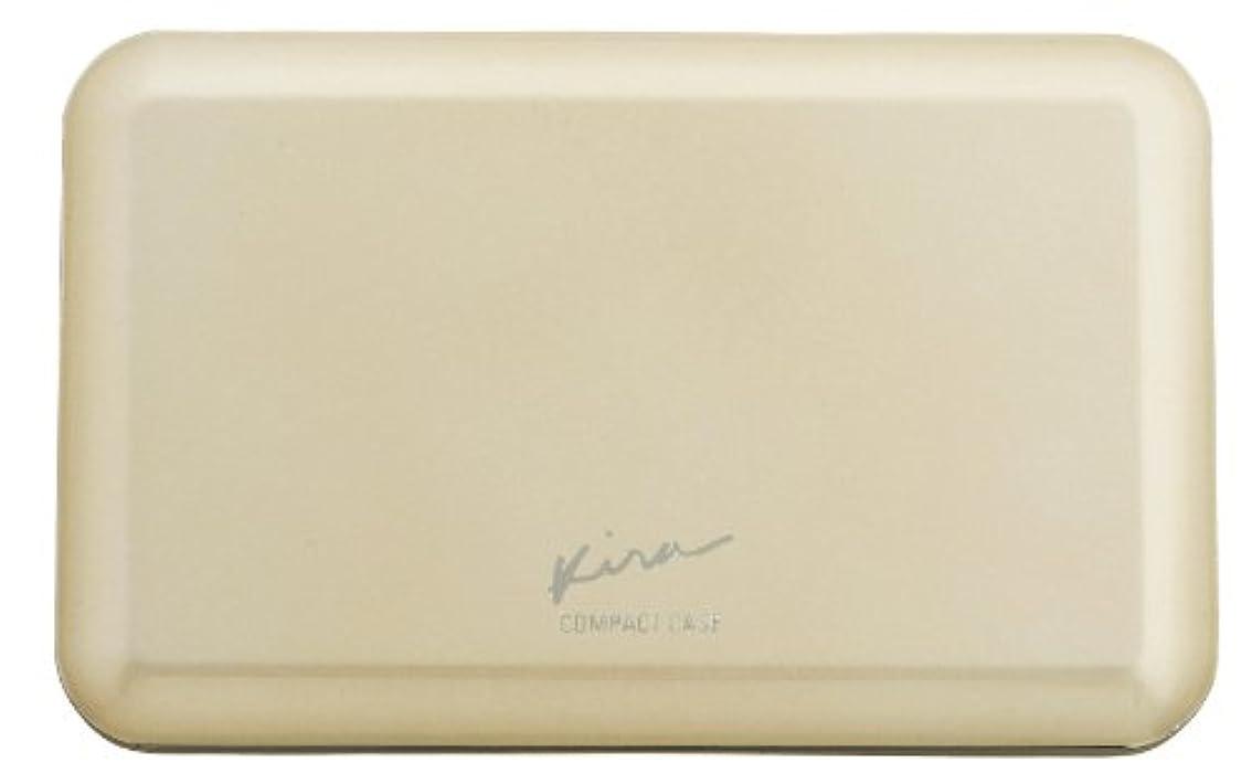相互普遍的な気難しい綺羅化粧品 プレストパウダー専用 コンパクトケース (パフ 付き)