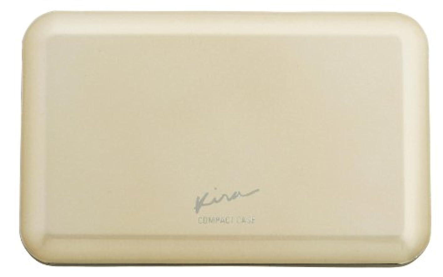 耐えるアトミック器具綺羅化粧品 プレストパウダー専用 コンパクトケース (パフ 付き)