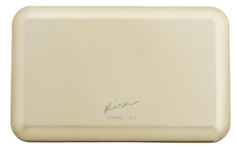 矢ブースト生理綺羅化粧品 プレストパウダー専用 コンパクトケース (パフ 付き)