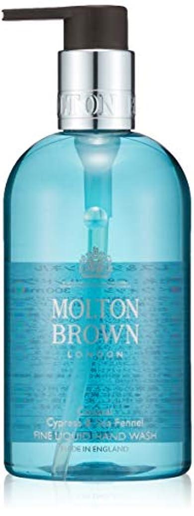 木曜日払い戻し植物学者MOLTON BROWN(モルトンブラウン) サイプレス&シーフェンネル コレクションC&S ハンドウォッシュ 300ml