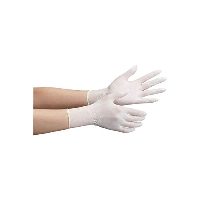 レンジ現れる手綱ミドリ安全/ミドリ安全 ニトリル使い捨て手袋 極薄 粉なし 100枚入 白 SS(3889106) VERTE-711-SS [その他]