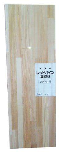 RoomClip商品情報 - JUMBO レッドパイン集成材 シュリンク済み 910X18X300mm