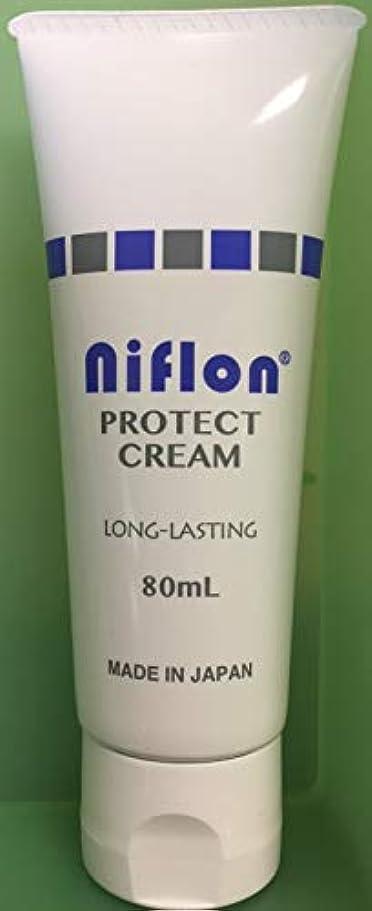 大声でフォームスクラブ<皮膚保護クリーム> ニフロン プロテクトクリーム 80ML/持続型皮膚保護クリーム(NIFLON)