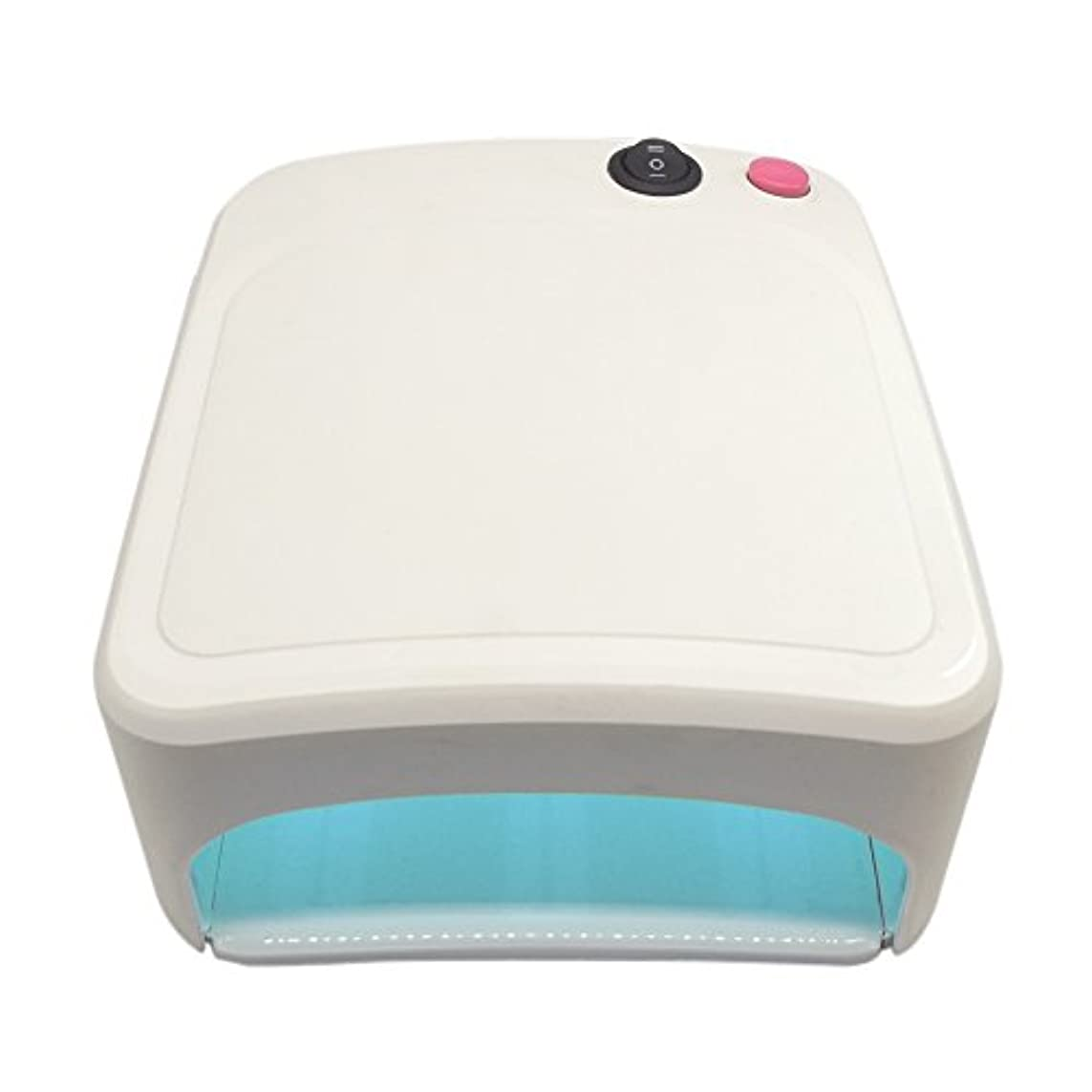 静かに放置考慮UVライト 36W ネイル レジン 本体+電球3本付
