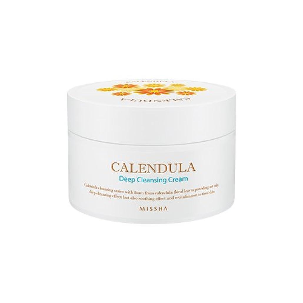 慢薄める刈るMISSHA Calendula Deep Cleansing Cream 200ml/ミシャ カレンデュラ ディープクレンジング クリーム 200ml