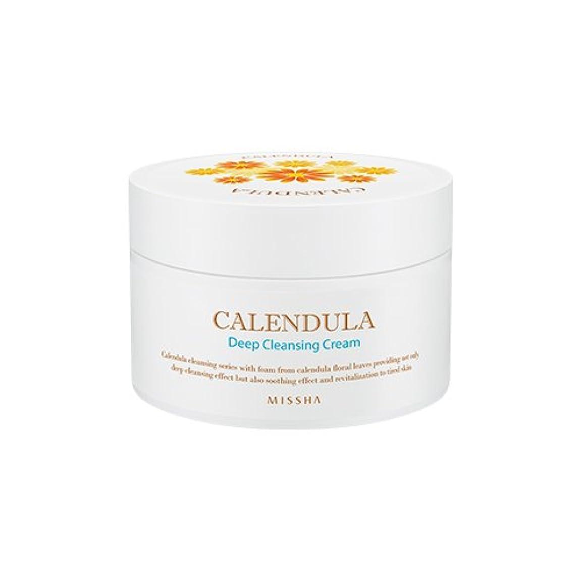 MISSHA Calendula Deep Cleansing Cream 200ml/ミシャ カレンデュラ ディープクレンジング クリーム 200ml
