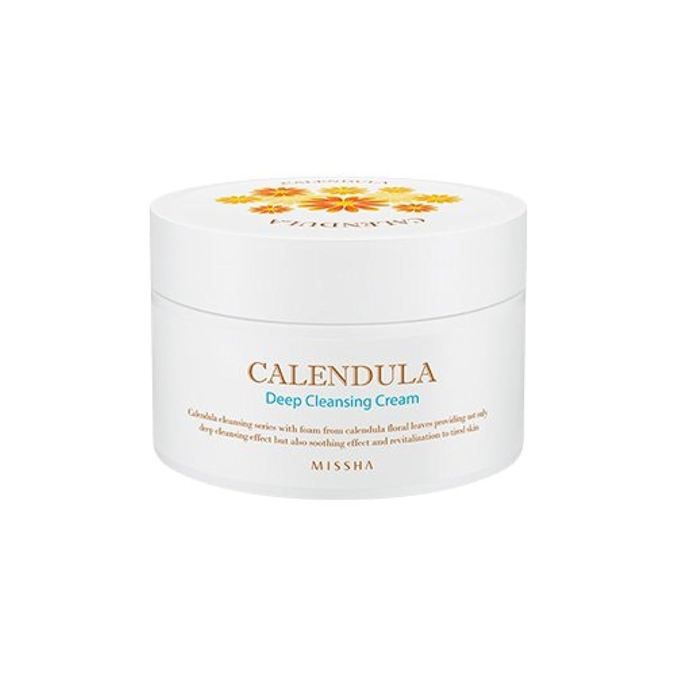 特派員活発災害MISSHA Calendula Deep Cleansing Cream 200ml/ミシャ カレンデュラ ディープクレンジング クリーム 200ml