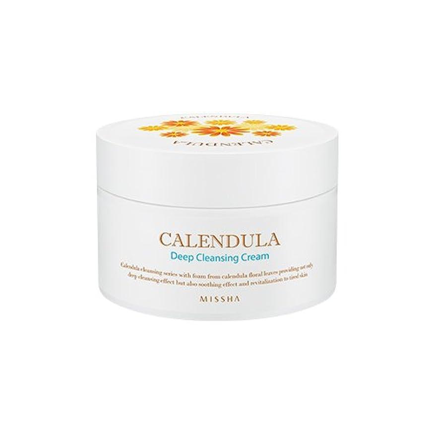 怠感講義告発MISSHA Calendula Deep Cleansing Cream 200ml/ミシャ カレンデュラ ディープクレンジング クリーム 200ml