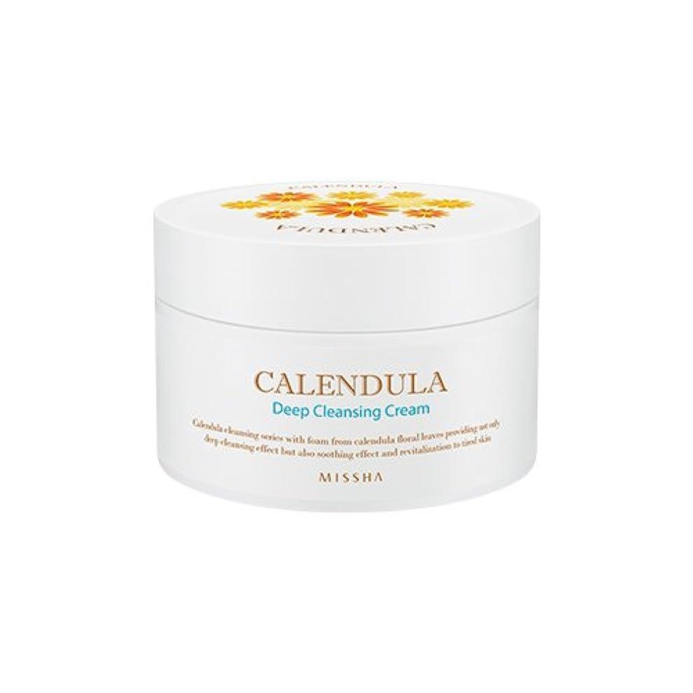 漏斗農村リスナーMISSHA Calendula Deep Cleansing Cream 200ml/ミシャ カレンデュラ ディープクレンジング クリーム 200ml