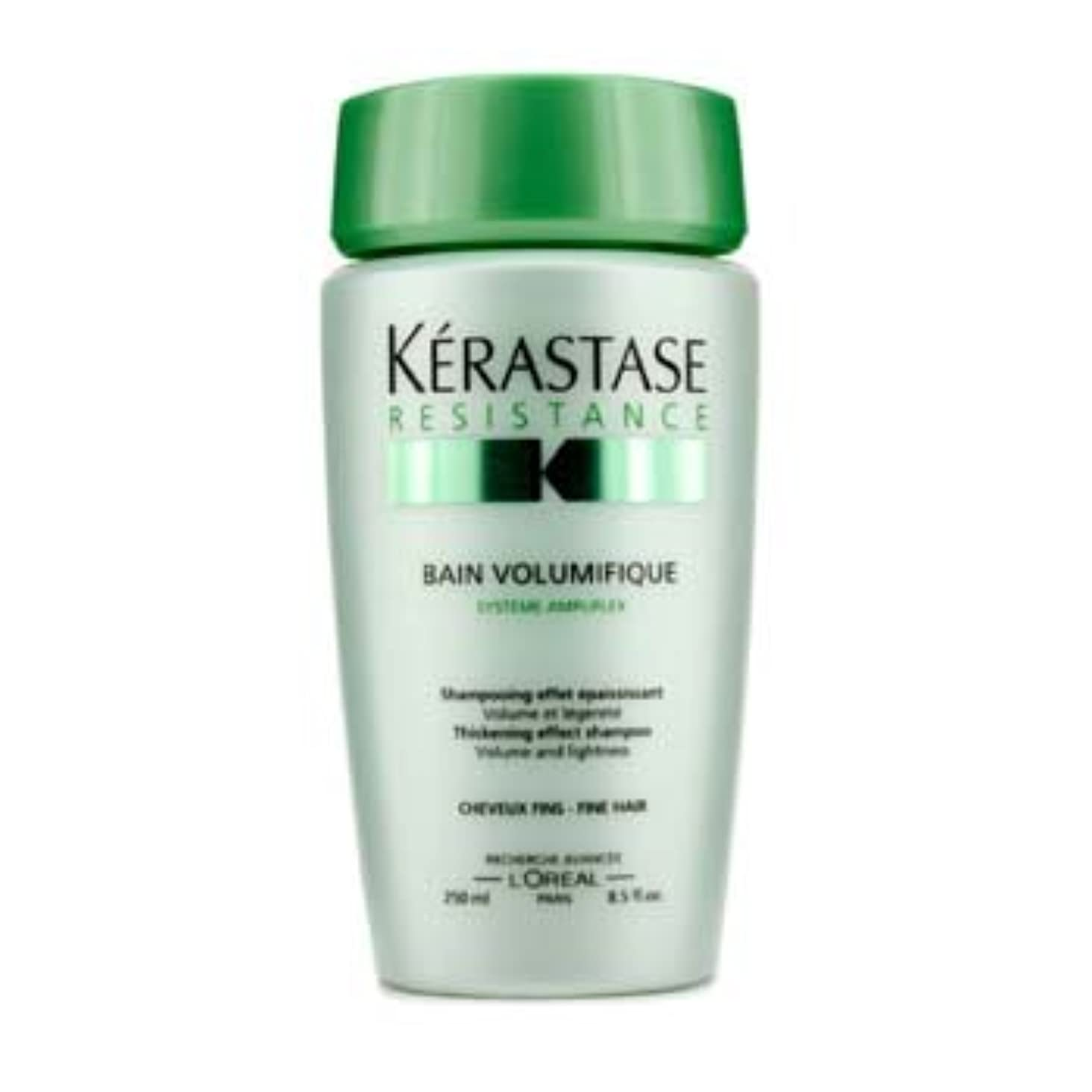 赤面チャペルエアコン[Kerastase] Resistance Bain Volumifique Thickening Effect Shampoo (For Fine Hair) 250ml/8.5oz