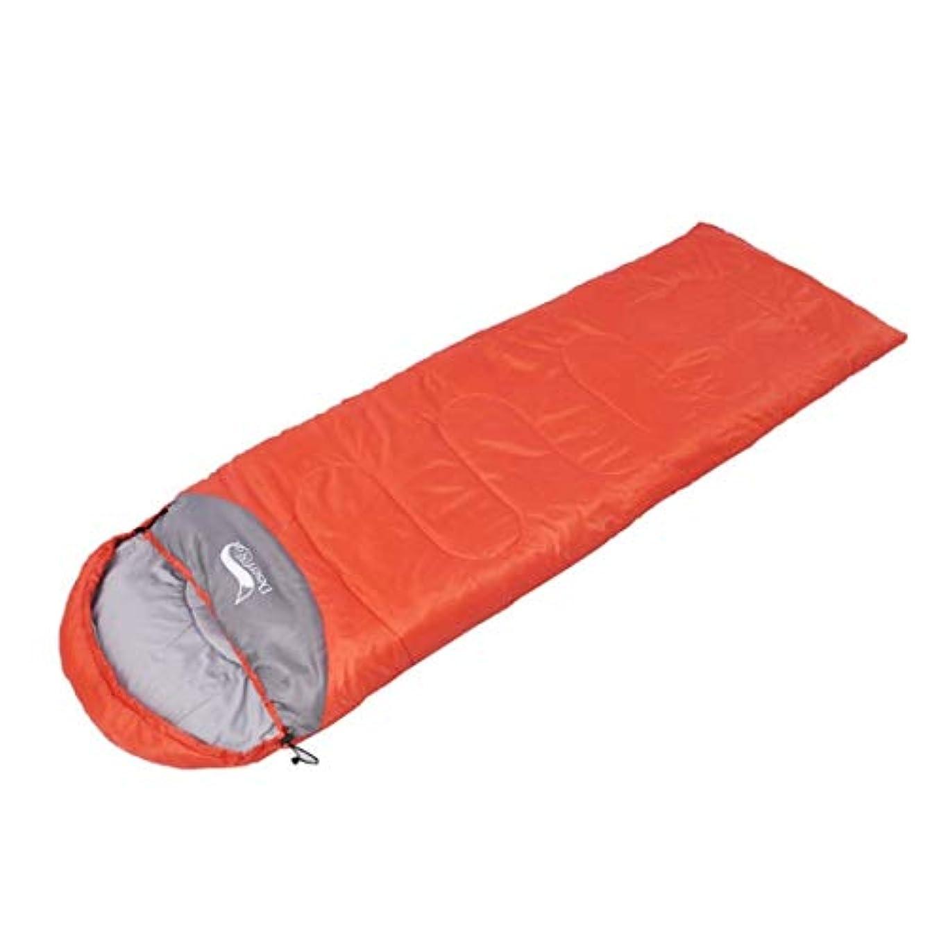 付添人毎年予報Tianmey 春と秋のモデル超軽量中空コットン大人屋外寝袋昼休みフリースキャンプ寝袋キャンプ寝袋