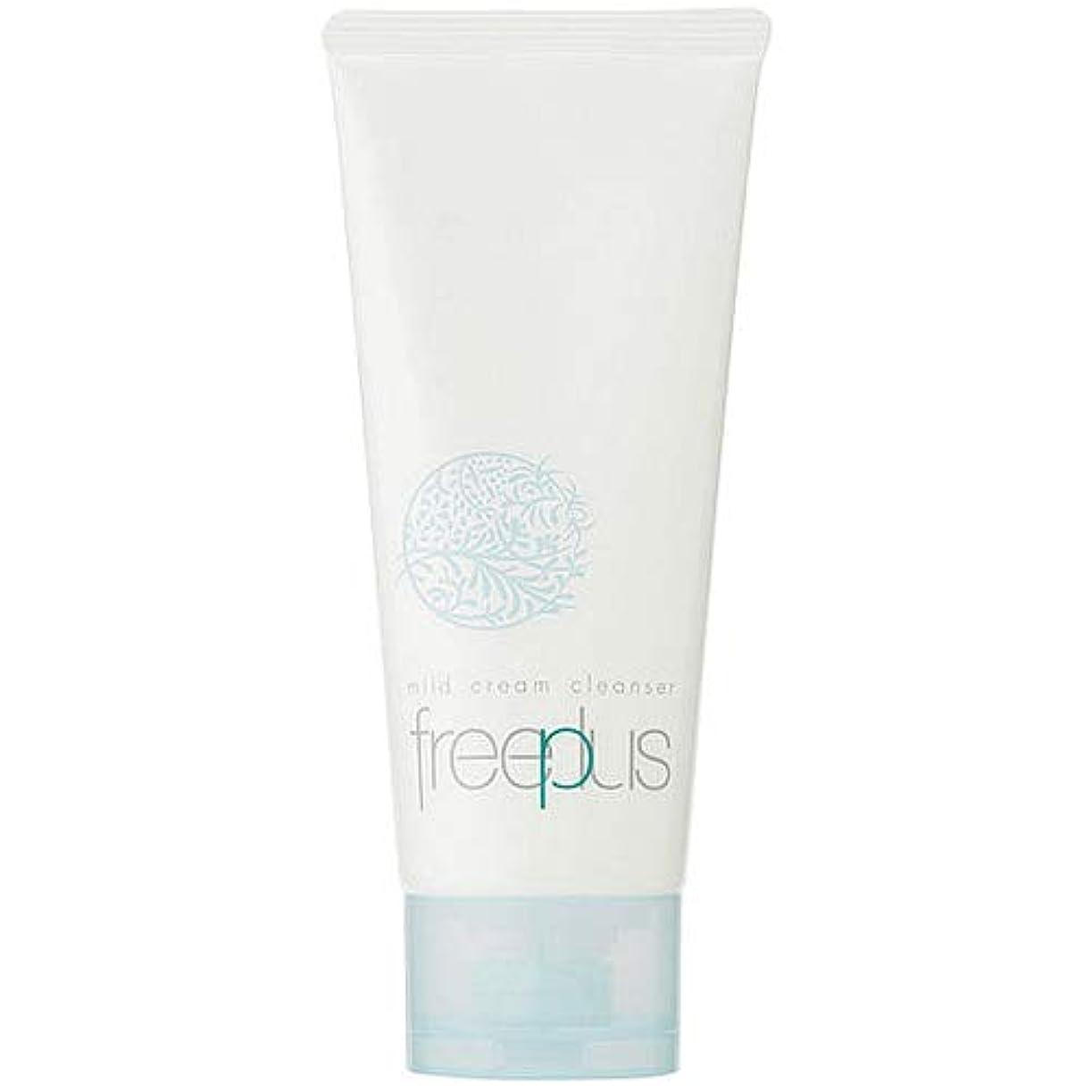 短命保全硬さフリープラス FREEPLUS フリープラス マイルドクリームクレンザーa 125g [並行輸入品]