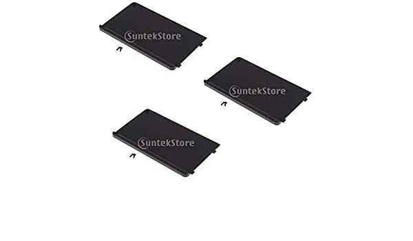 3pc Hard Drive HDD Caddy Base Cover for HP Elitebook 8730P 8740P 8730W 8740W