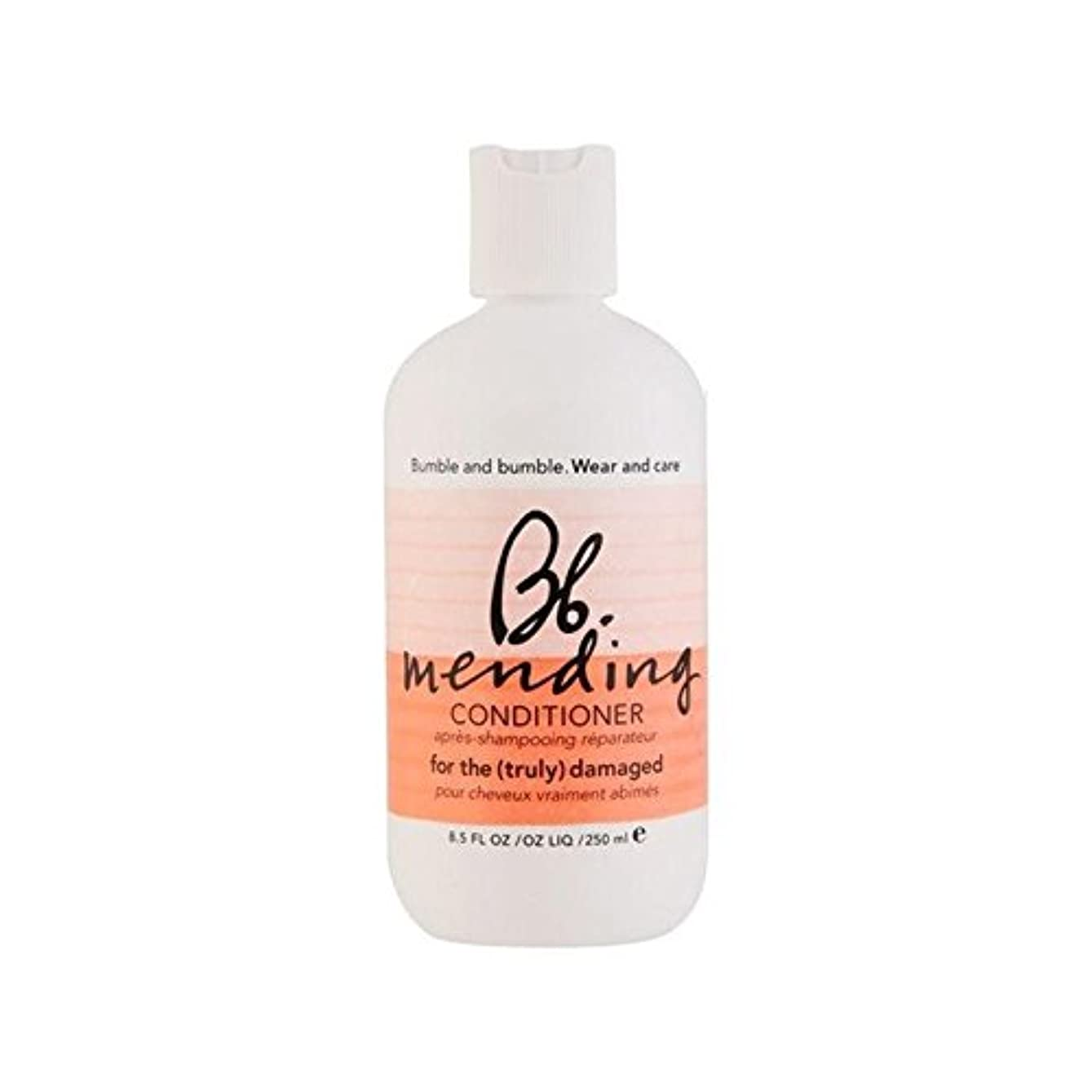 Bumble & Bumble Wear And Care Mending Conditioner (250ml) - 着るとコンディショナー(250ミリリットル)を補修ケア [並行輸入品]