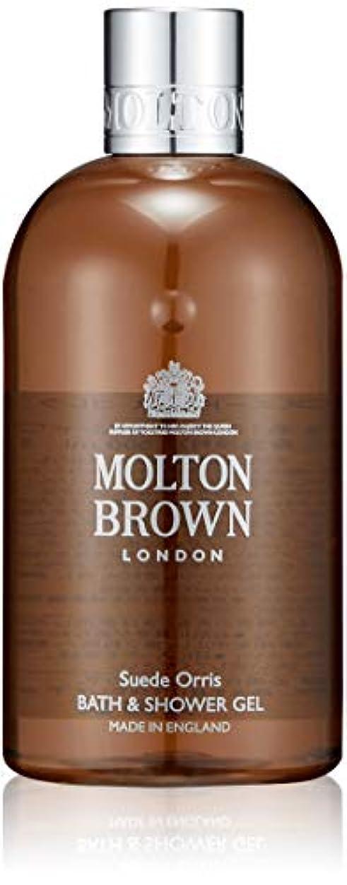欠伸温度計透明にMOLTON BROWN(モルトンブラウン) スエード オリス コレクションSO バス&シャワージェル 300ml