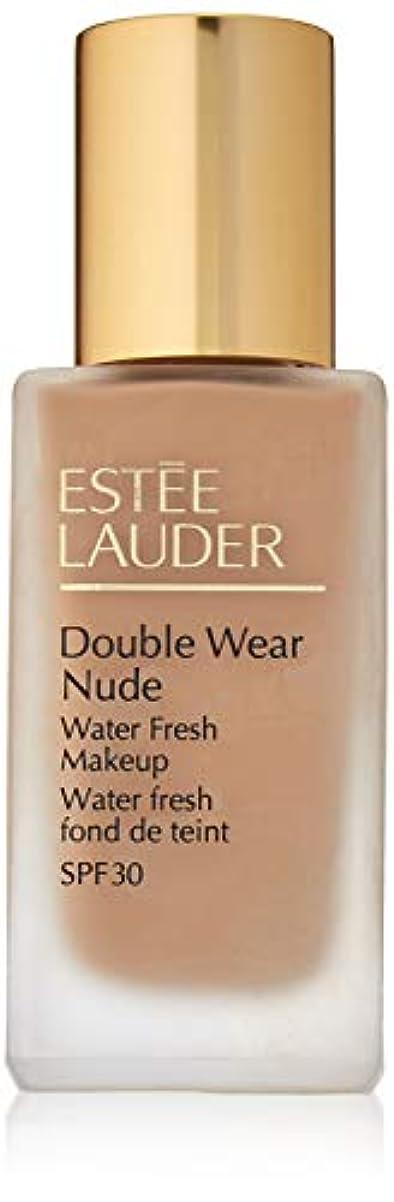 専門失望させる払い戻しエスティローダー Double Wear Nude Water Fresh Makeup SPF 30 - # 4N1 Shell Beige 30ml/1oz並行輸入品