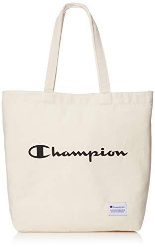 [チャンピオン] トートバッグ キャンパス地 A4 ホワイト×ブラック