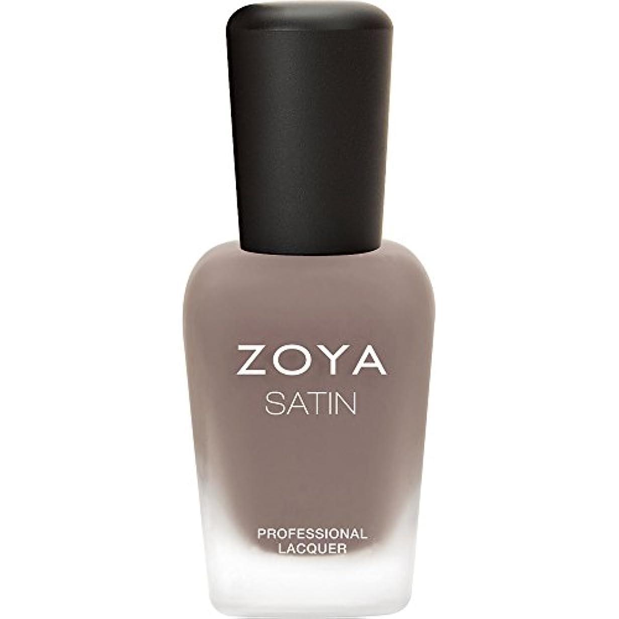 ZOYA ゾーヤ ネイルカラー ZP779  ROWAN ローワン 15ml 2015 Naturel Satins Collection スモーキートープ マット 爪にやさしいネイルラッカーマニキュア