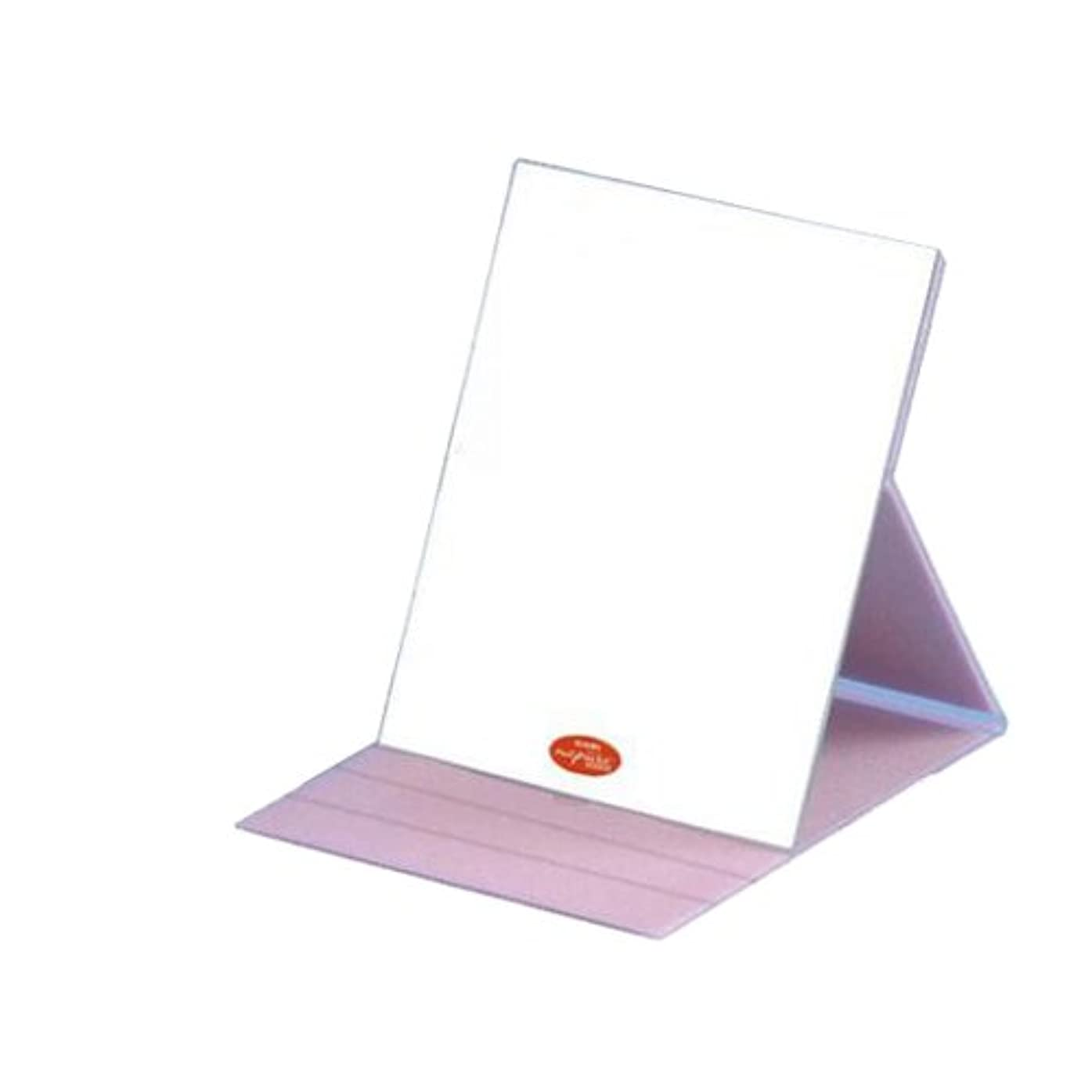 カメフィードオン集めるHP-61 ナピュア プロモデル角度調整3段階付き折立ミラー エコ?ピンク(L)