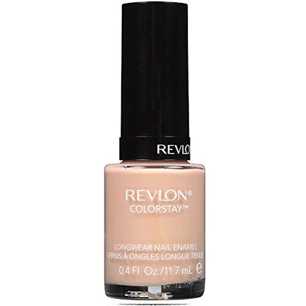 霧中でびっくりREVLON COLORSTAY LONGWEAR NAIL ENAMEL #320 TRADE WINDS