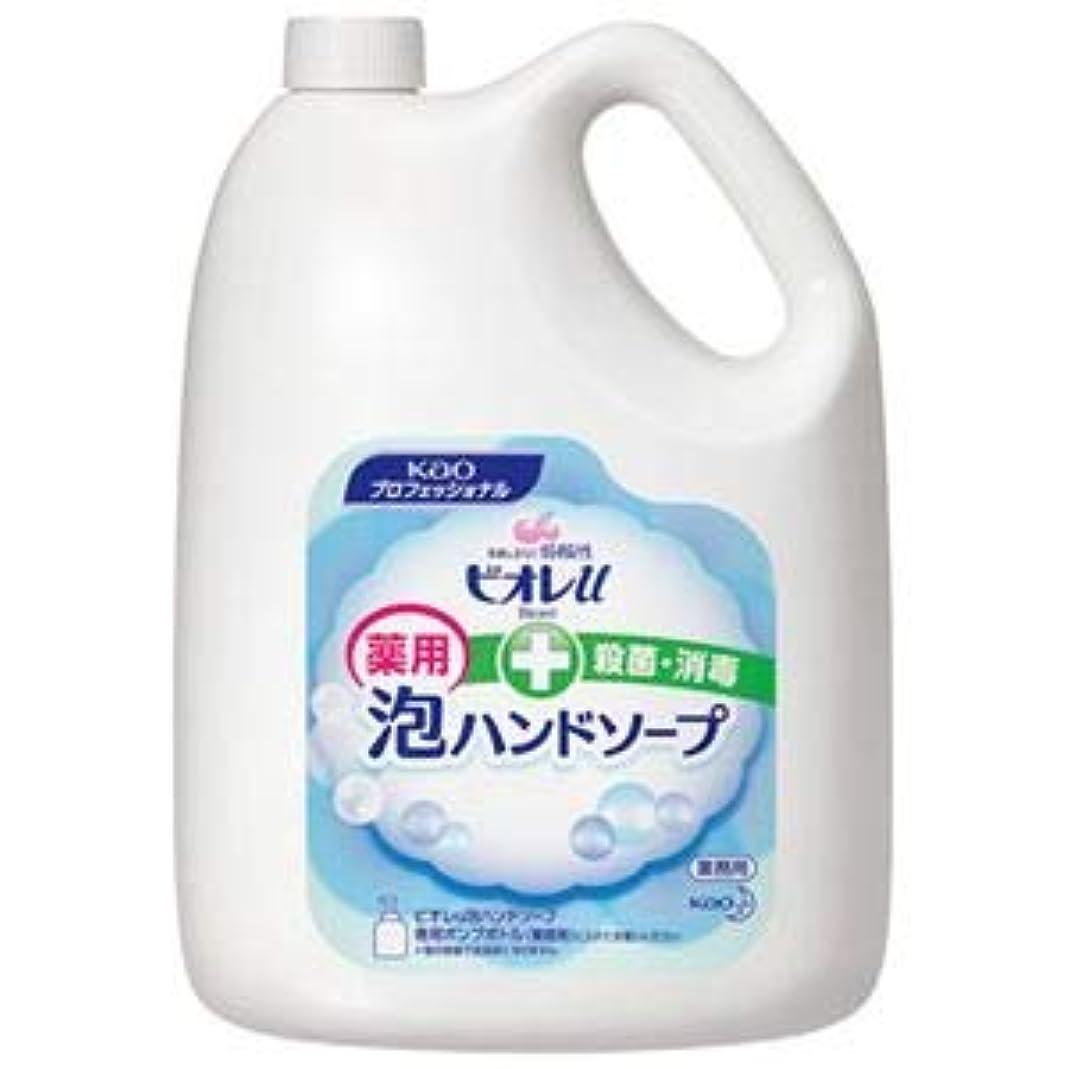 砂宝とは異なり(まとめ) 花王 ビオレU 泡ハンドソープ 業務用 4L【×3セット】